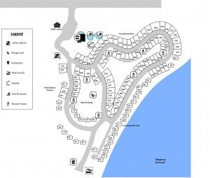 Highbanks Map